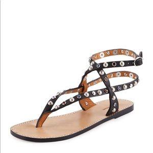 Isabel Marant Audrio Embellished leather sandals